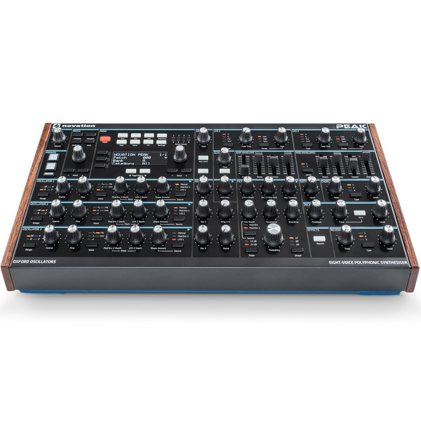 Novation PEAK 8 Voice Polyphonic 신디사이저