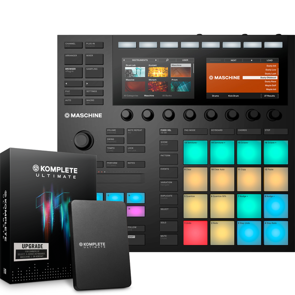 NI MASCHINE MK3 + KOMPLETE 11 ULTIMATE Upgrade from K SELECT 패키지