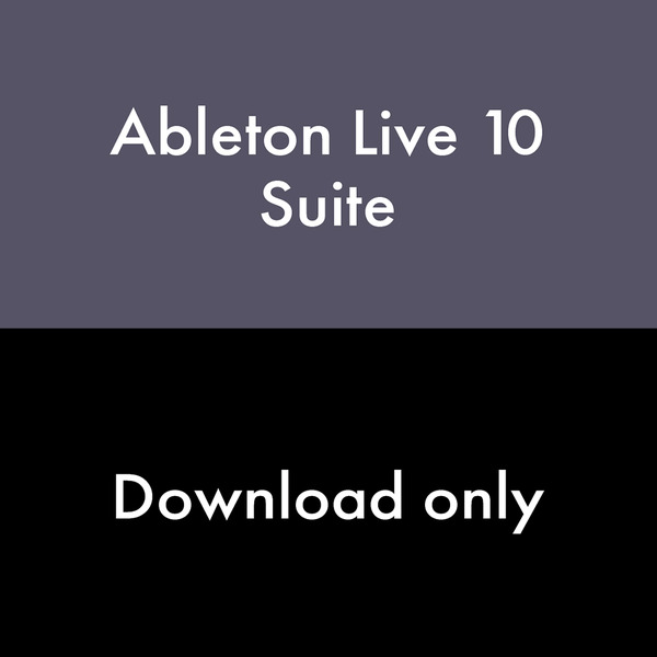 Ableton Live 10 Suite [전자배송] 에이블톤 라이브 10 DAW