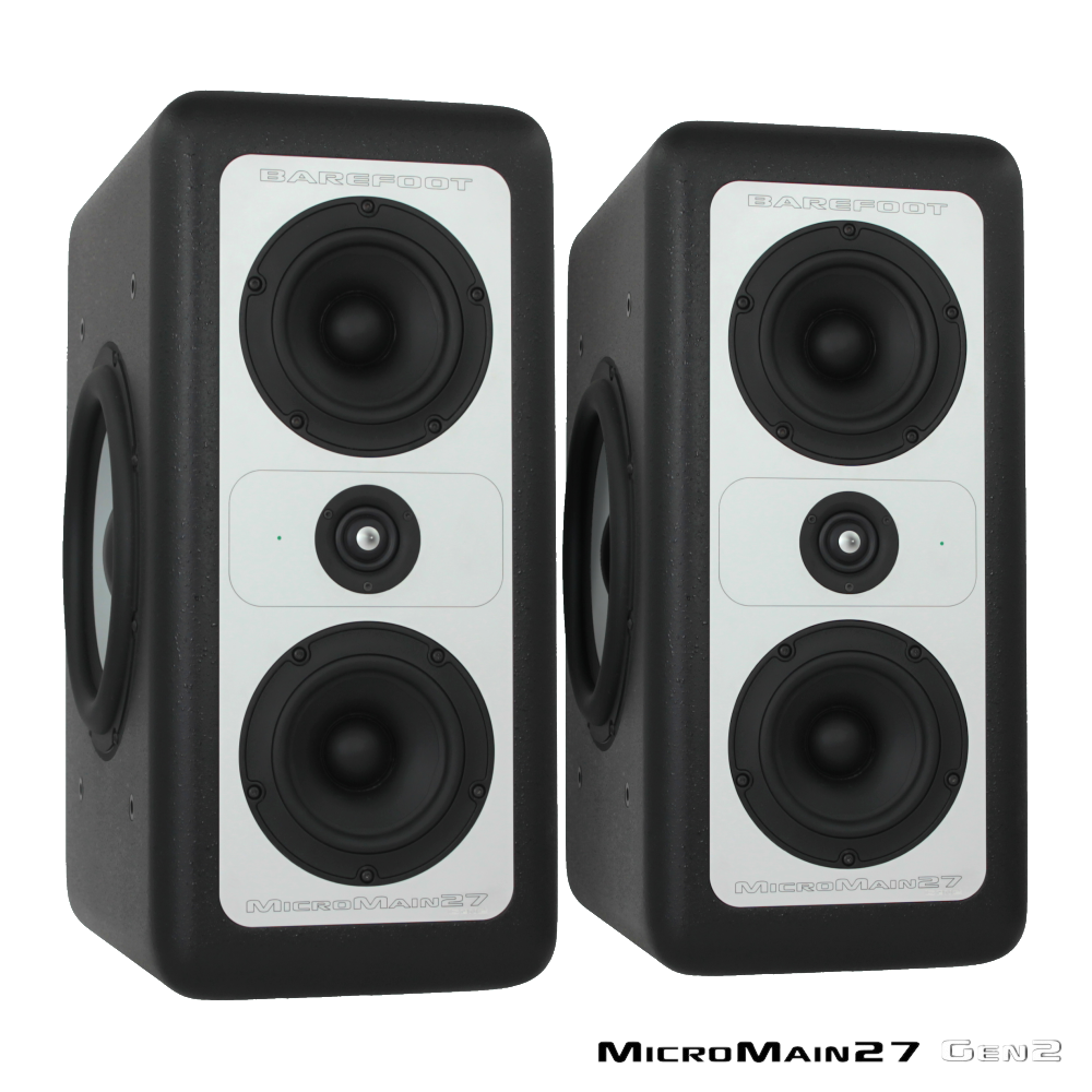 [Barefoot Sound] MicroMain27 Gen 2 (Pair)