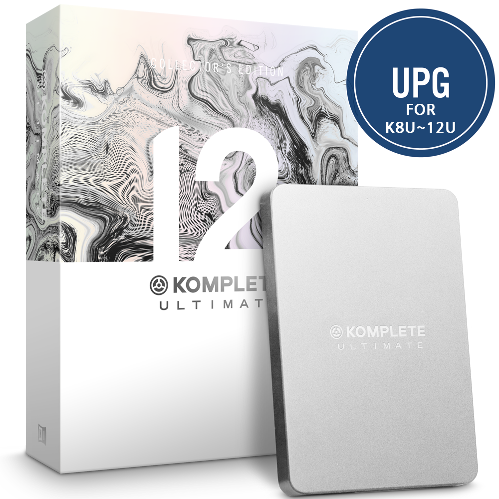 [세일] NI Komplete 12 Ultimate Collector's Edition UPG K8U-12U 업그레이드 버전