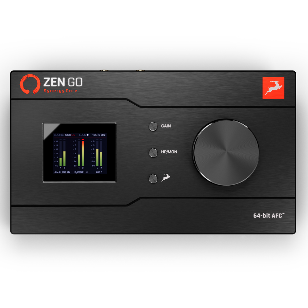 Antelope Zen Go Synergy Core - Producer Bundle 오디오 인터페이스