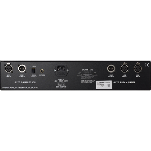 UA 6176 Channel Strip