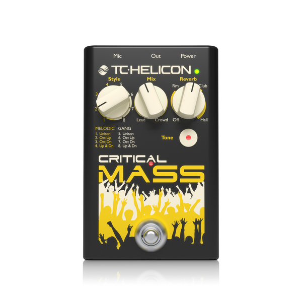 TC Helicon Critical Mass - 이펙터