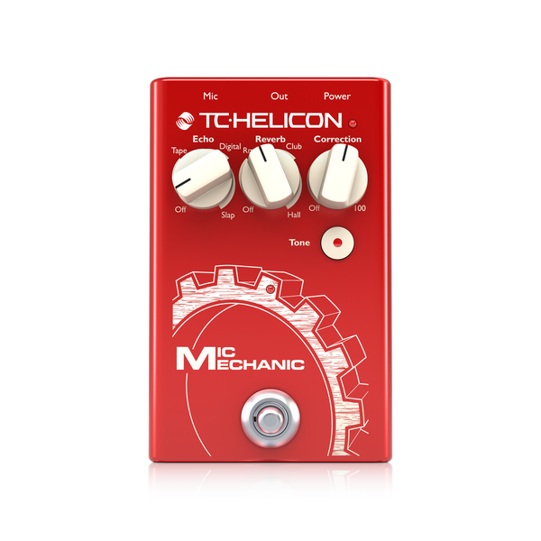 [TC Helicon] Mic Mechanic 2 - 이펙터
