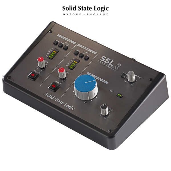 Solid State Logic SSL 2 / USB-C 오디오 인터페이스