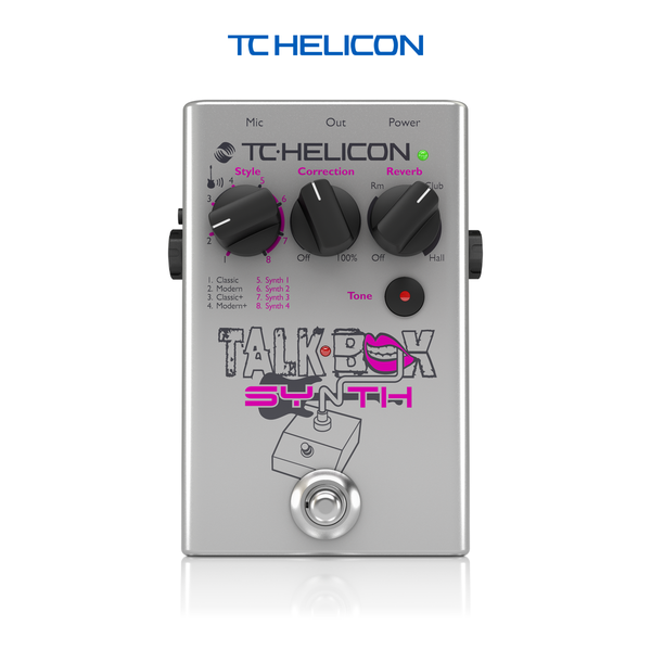 TC Helicon Talkbox Synth - 이펙터
