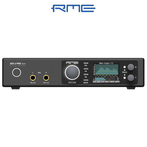 [신학기세일] RME Audio ADI-2 Pro FS R Black Edition