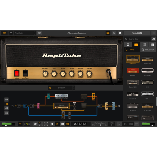 IK Multimedia Amplitube 5 MAX [전자배송]
