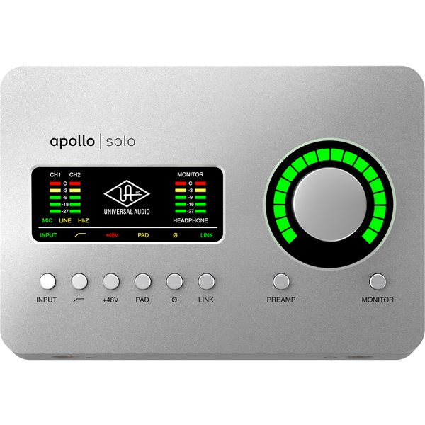 [Universal Audio] Apollo Solo (TB) 헤리티지 에디션