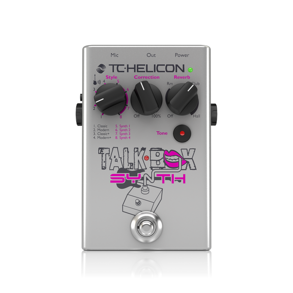 [TC Helicon] Talkbox Synth - 이펙터
