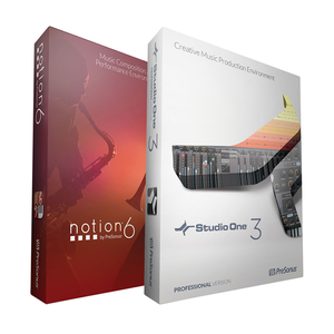 PreSonus Notion 6 + Studio One 3 Professional 패키지 - 다운로드 버전