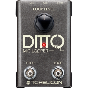 [TC Helicon] Ditto Mic Looper - 이펙터