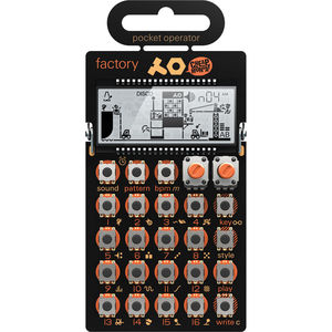 Teenage Engineering PO-16 factory / 포켓 신디사이저 and 시퀀서