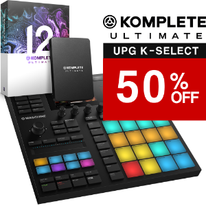 [블프세일] NI Maschine MK3 + Komplete 12 Ultimate Upg K-SELECT 패키지