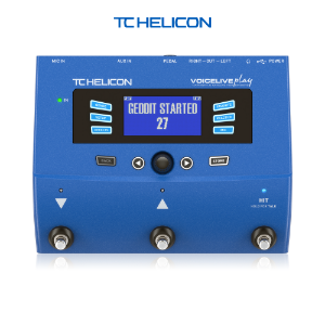 TC Helicon VoiceLive Play - 이펙터