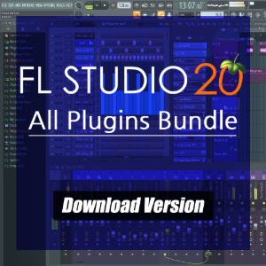 FL Studio 20 All Plugins Bundle DAW 소프트웨어 [전자배송]