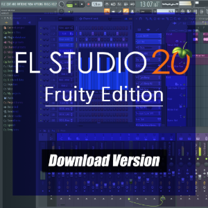 [FL Studio 20] Fruity Edition DAW 소프트웨어 [전자배송]