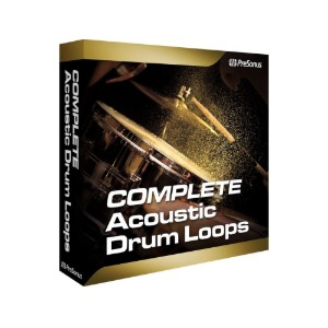 PreSonus Acoustic Drum Loops - Complete 플러그인 [전자배송]