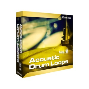 PreSonus Acoustic Drum Loops Vol. 2 - Stereo 플러그인 [전자배송]