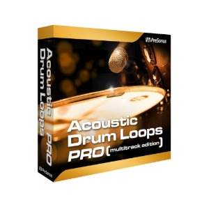 PreSonus Acoustic Drum Loops - Multitrack 플러그인 (전자배송)