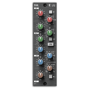 [Solid State Logic] E-Series EQ for 500-Series (611EQ) (Brushed Metal)