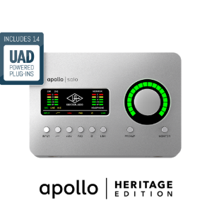 [Universal Audio] Apollo Solo USB (for Windows) 헤리티지 에디션
