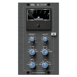 [Solid State Logic] Bus Compressor for 500-Series (Brushed Metal)